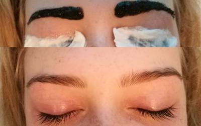 Farvning af Bryn og vipper giver dit ansigt mere udtryk