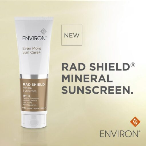 Rad shield mineral sunscreen