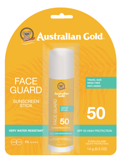 face guard blister spf 50
